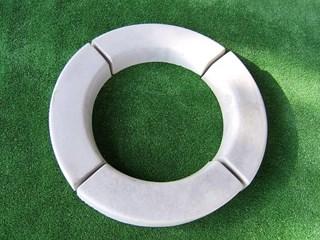 Extra Large Tree Ring Flower Ring Quarter Mould Castaway