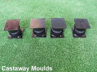 Vibration Table Rubber Bushes Castaway Mouldings