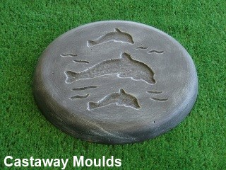 Dolphin Stepping Stone Mould