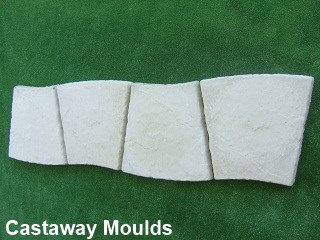 Plaster Of Paris Stepping Stones